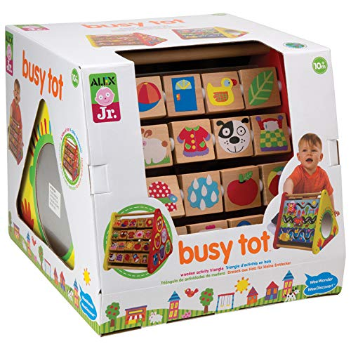 ALEX Jr. Busy Tot (Busy Box Activity Toy)