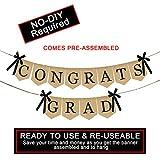Happy Graduation and grad cap garland