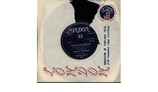 Engelbert Humperdinck - Engelbert Humperdinck - Dejame En Libertad / Diez Guitarras - Tear In London Sleeve - London Records - DLM 5052 - Canada - NM / VG+ ...