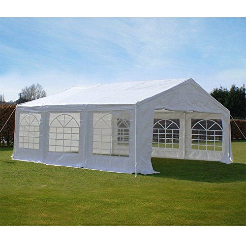 Quictent 20X20 Heavy Duty Outdoor Gazebo Party Wedding Tent Canopy Carport Shelter with Sidewalls (20x20 & 18 Great Canopy Party Tents For Sale Online - CanopyKingpin.com
