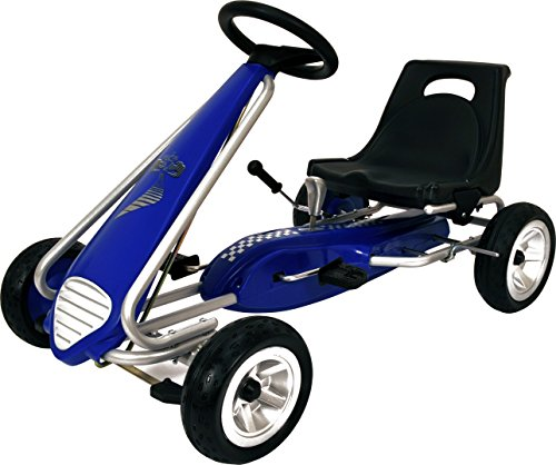 Kiddi-o by Kettler Pole Position Racer Pedal Car/Go Kart, Youth Ages 4 to 7 by KETTLER