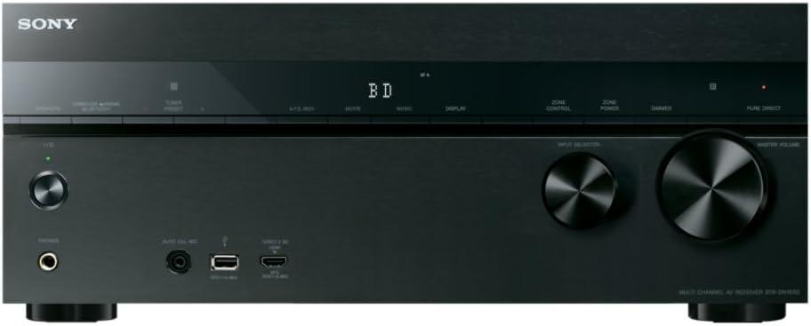 Sony STR-DN1050 7.2 Channel Hi-Res 4K AV Receiver (Built-in Wi-fi & Bluetooth)