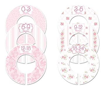 Amazon.com: clóset garabatos C102 rosas niña bebé de ...