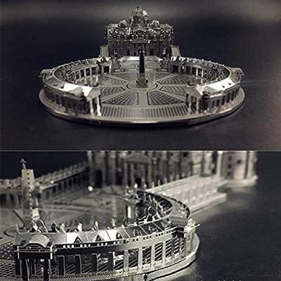 Catedral de San Petersburgo 3D Metal Puzzle Modelo Regalo ...