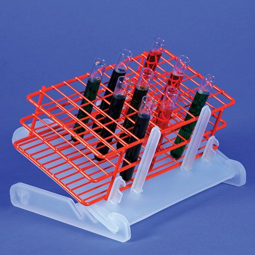 - Bel-Art Test Tube Rack Slanter; Fits Racks up to 11⁹⁄₁₆ in. x 9⁹⁄₁₆ in. x 3¼ in. (F18890-0100)