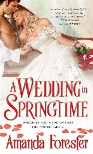 book cover of A Wedding in Springtime