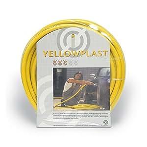 'Yel Low plast Manguera de jardín manguera de agua pvc amarillo, 150metros