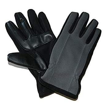 Isotoner Mens Touchscreen Fleece Lined Winter Gloves at