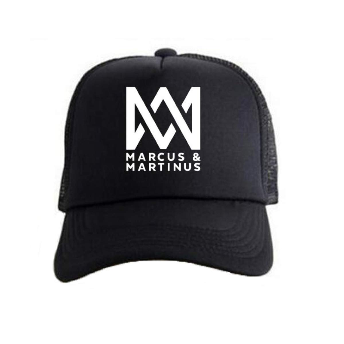 Marcus and Martinus Baseball Cap Caps Letters Printed Mesh Net Trucker Sun Hats at Amazon Mens Clothing store: