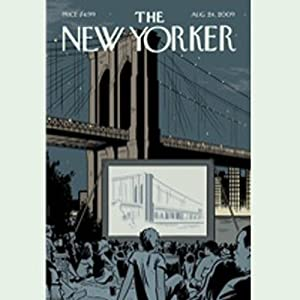 The New Yorker, August 24, 2009 (Alec Wilkinson, David Sedaris, Tad Friend) Periodical