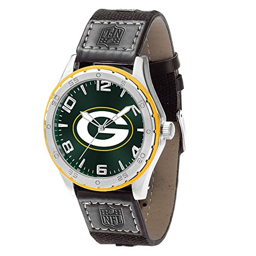 Rico Industries NFL Green Bay Packers Watch, One Size, Team Color