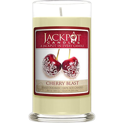 Cherry Blast Necklace Candle (Surprise Jewelry Valued at $15 to (125 Candles)