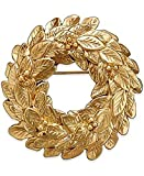 Charter Club Gold-Tone Wreath Pin