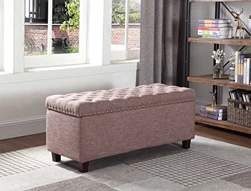 Cheap NHI Express Buttontufted Storage Ottoman Not Applicable ottoman chair for sale