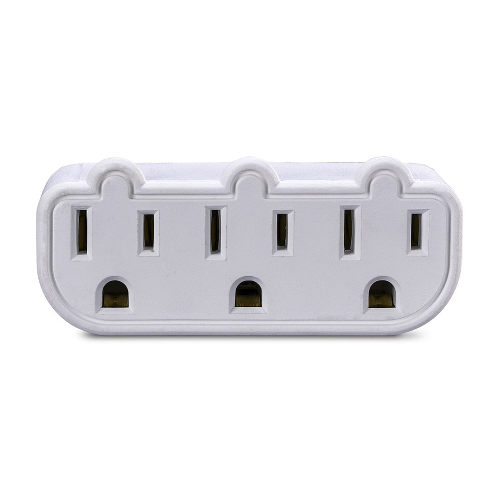 CyberPower GT300P 3-Outlet Pivoting Wall Tap