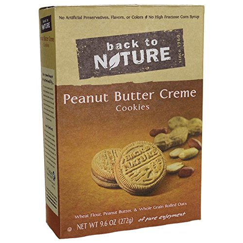 Back to Nature Peanut Butter Creme Cookies 96 oz