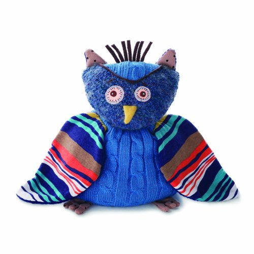 Beaded Dimensional Embroidery (Nat and Jules Plush Toy, Oliver The Owl)