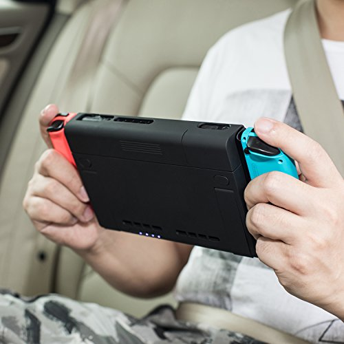 new products 78ced 33cc3 Nintendo Switch Battery Charger Case, Antank Portable Switch Backup ...
