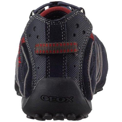 Geox Uomo Snake U0107Y02214C5267 - Zapatillas con cordón elástico para hombre Azul