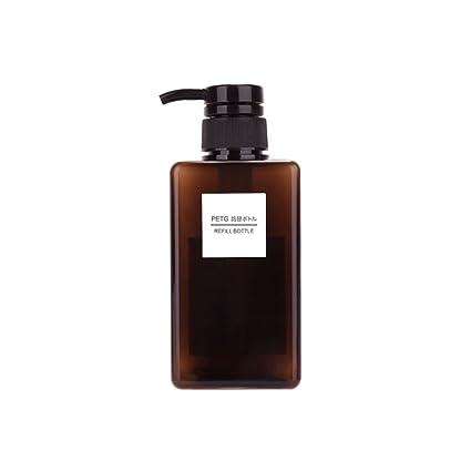 HaloVa Soap Dispenser Bottle, Large Capacity Cubic Pump Bottle, Convenient  To Use Safety Leakproof