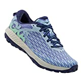 HOKA ONE ONE Women's Speed Instinct Trail Running Sneaker Shoe (7, Persian Jewel/Spring Bud)