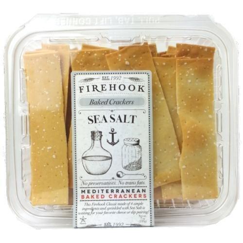 Sea salt mediterranean crackers (3 pack)