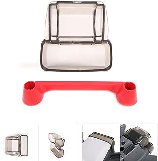 YOYOUG 2-in-1& controller Thumb protezione dell' obiettivo della fotocamera tappo per DJI Spark giunto cardanico accessori, Red