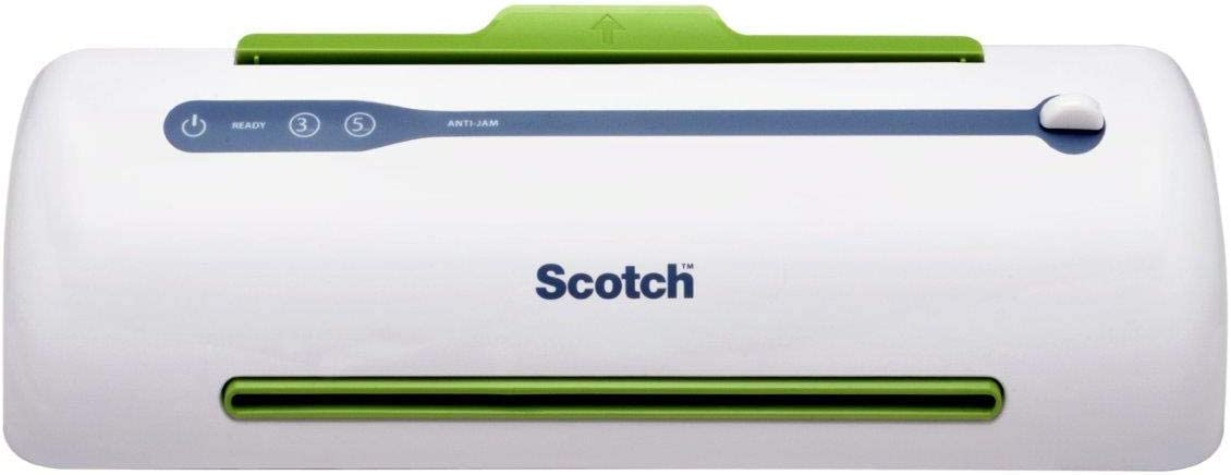 Scotch TL906 Thermal Laminator, Never Jam Technology Automatically Prevents Misfed Items, 2 Roller System, 9 inch : Laminating Machines : Office Products