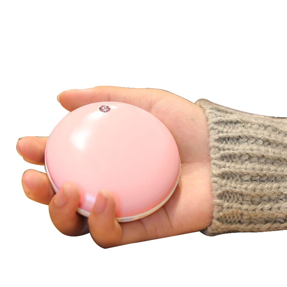 OLI Hand Warmer - Crystal Rechargeable Electric Warmer - Female Explosion-Proof Hand Warmer - Charging Po - Birthday, Pink,Hand Warmers
