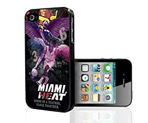 Miami Heat Colorful Purple,pink,yellow Hard Snap on Phone Case (Case For Iphone 5/5S Cover)