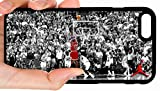 Jordan Shot Bulls Game Winner Black & White Background Basketball Phone Case Cover - Select Model (Galaxy Note 9)