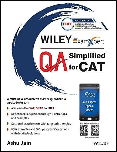 Buy wileys examxpert quantitative aptitude qa simplified for cat buy wileys examxpert quantitative aptitude qa simplified for cat book online at low prices in india wileys examxpert quantitative aptitude qa fandeluxe Images