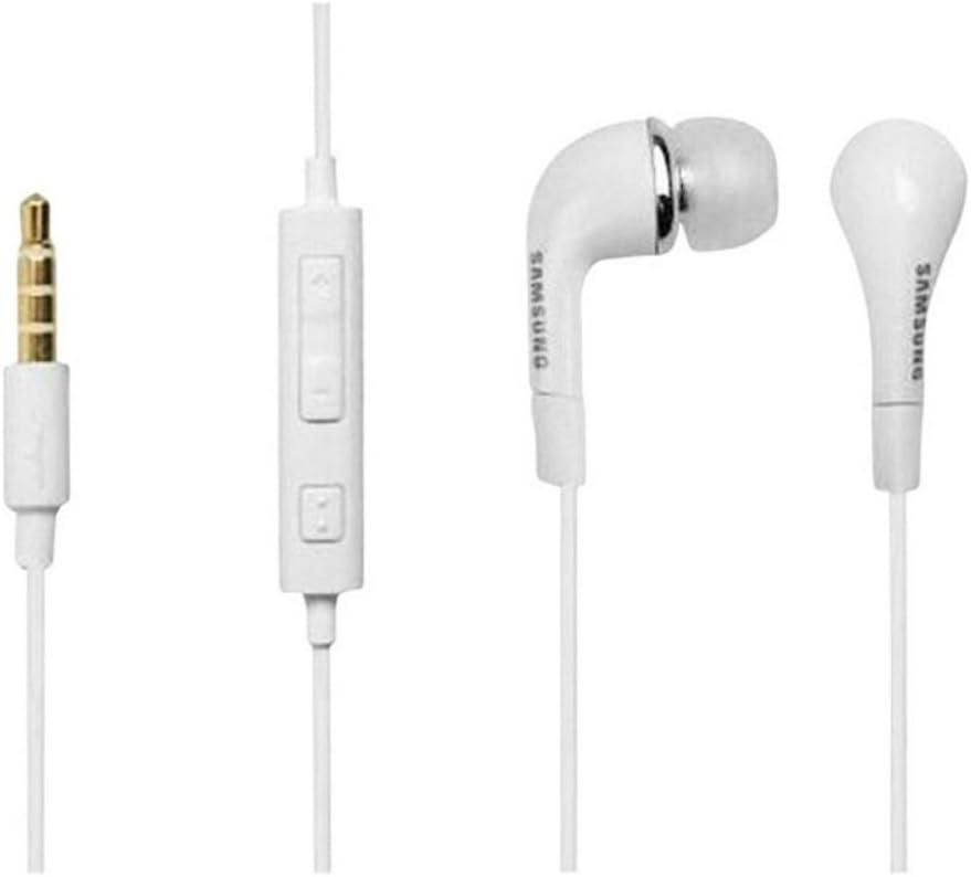 Auriculares Manos libres Estéreo EHS64AVFWE Samsung en EU BLISTER para Samsung Galaxy S3 i9300 Samsung Galaxy S Advance i9070 Samsung N - BLANCO