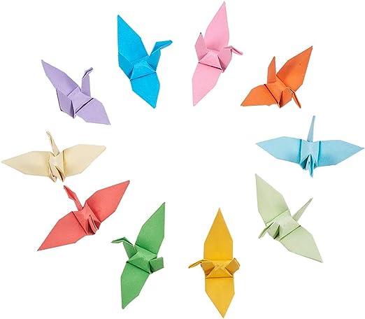 Origami Crane Instructions | Origami paper crane, Origami swan ... | 442x522