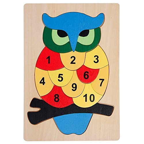 Bits Pieces Educational Wooden Number Packing product image
