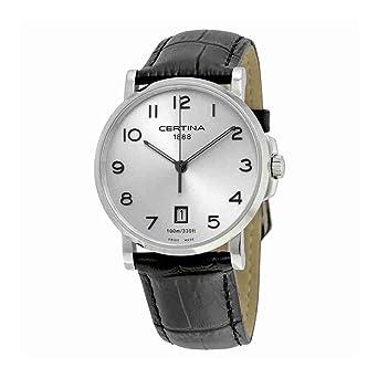 Certina Reloj para Hombres de Cuarzo con Correa en Cuero C017.410.16.032.00: Amazon.es: Relojes