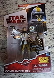 Clone Commander Bly Star Wars Saga Legacy Collection The Clone Wars Cw39 Rare Toy Collectible