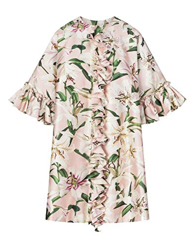 Dolce e Gabbana Luxury Fashion Womens F0X14THS149HFKK8 Pink Coat   Fall Winter 19