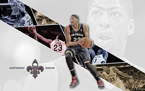 Many Players Mlb Team - Anthony Davis New Orleans Pelicans Basketball Player Limited Print Photo Poster Size 8x10 #1