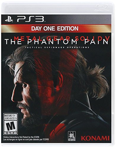 Metal Gear Solid V: The Phantom Pain - PlayStation 3 Day One Edition (Ps3 Metal)