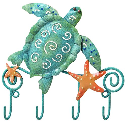 Regal Art & Gift Sea Turtle Key Hook (Caribbean House Hooks)