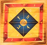 Rune Cloth on the Altar Celtic Wicca Runes