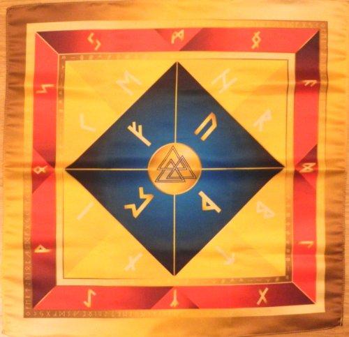 Rune Cloth on the Altar Celtic Wicca Runes Celtic Pendulum