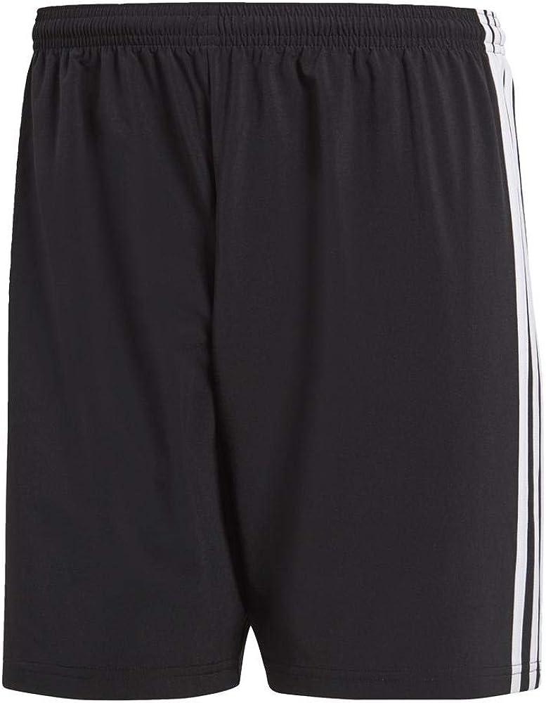 Black//White 2XL Hombre Real Valladolid Club de F/útbol Condivo18 SHO Pantalones Cortos de Deporte