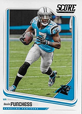 Amazon.com  Football NFL 2018 Score  49 Devin Funchess  49 NM+ ... e6cec937b