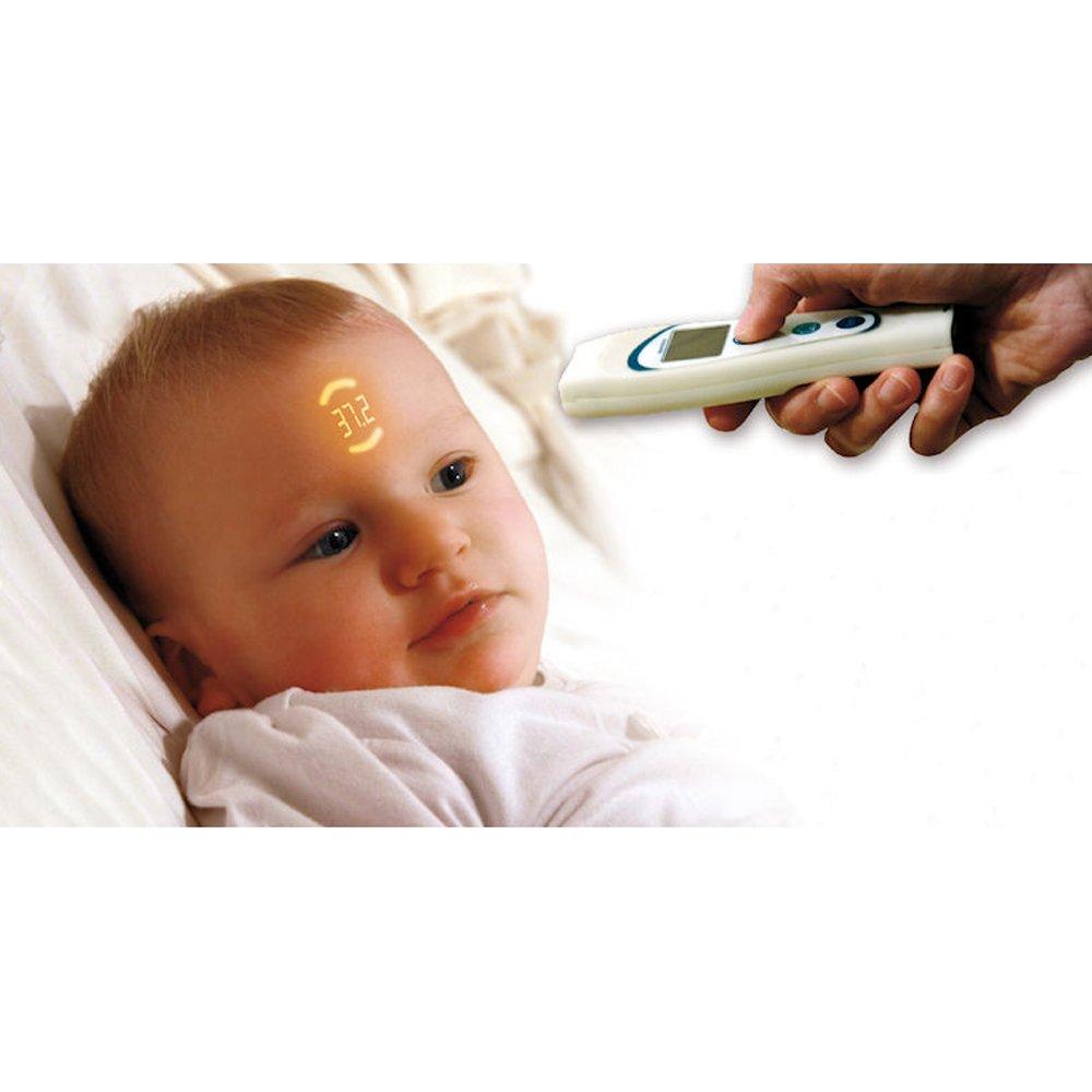Vital Innovations 05151 Term/ómetro digital refleja la temperatura en la piel