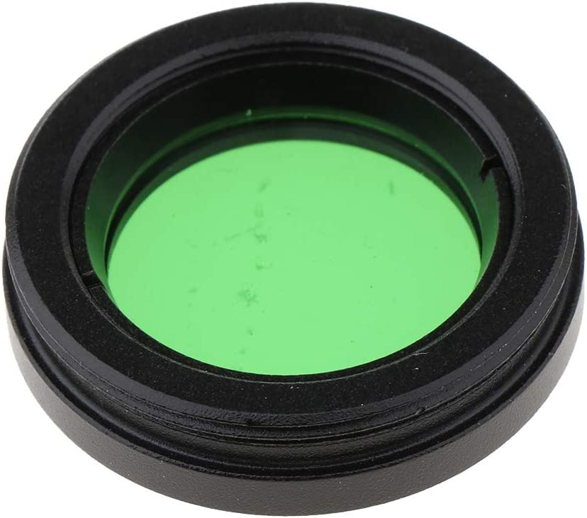 Green Glass Lens 1.25inch Moon Filter for Telescope Eyepiece