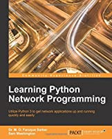 Learning Python Network Programming Front Cover