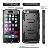 iPhone 6 Case, [Heave Duty]Slim Protection i-Blason Apple iPhone 6 Case 4.7 inch Armorbox [Dual Layer] Hybrid Full-body Protective Case with Front Cover and Built-in Screen Protector / Impact Resistant Bumpers Cover for iPhone 6