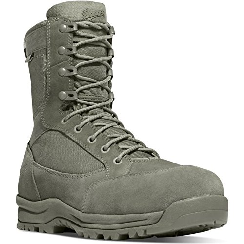 Danner Men's Tanicus 8'' NMT Boots, Olive, 9 D Sage Green (Best Military Boots For Rucking)